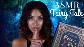 ASMR Thursday Bedtime Fairytale: Peter Pan | Part 3 (Soft Spoken, Page Turning, Paper Sounds..)