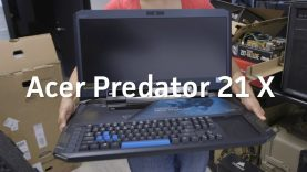 Acer Predator 21 X Unboxing: Behold the beast