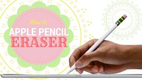 Apple Pencil Eraser Unboxing and Review