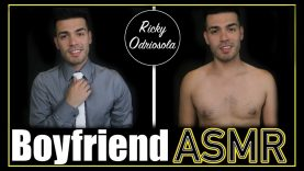 ASMR – Boyfriend Role Play (Male Whisper, Kissing Sounds for Sleep & Relaxation)