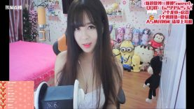 ASMR Chinese Streamer / Mouth sounds / Whispering 娜娜Sweet #27 20/8/17