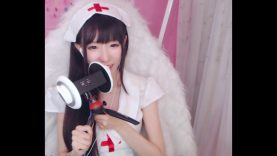 ASMR Ear Eating, Mouth Sounds, Nurse Roleplay – 中文
