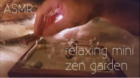 ASMR – Relaxing Mini Zen Garden
