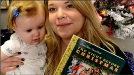 ASMR Story Time – Christmas Whispering and Baby Tingles